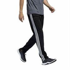 adidas Black White Track Trico Zip Pants Sz Small S Mens