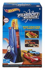 Mattel Hot Wheels Fusion Factory - Make Your Own Hot Wheels Cars - NEW