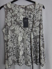 M & S Sleeveless Blouse BNWT Size 16