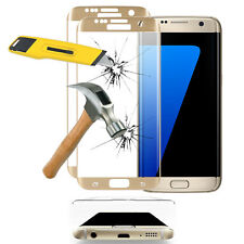 2x Films en VERRE Trempé Bord Incurvé JAUNE Samsung Galaxy S7 edge G935F/ G935FD