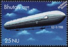1900 Luftschiff zeppelin LZ.1 Experimental DIRIGEABLE (dirigeable) Timbre