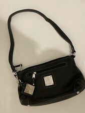 Tignanello Genuine Leather Shoulder Black Hand Bag