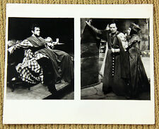 ORSON WELLES original Black and White still MAURICE EVANS 8x10 photo MACBETH