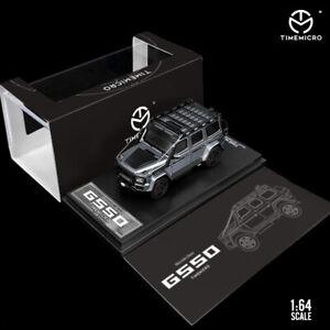 TimeMicro 1:64 Benz Brabus G550 SUV 4x4 Gary/RAW Model Car