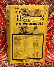 P G Wodehouse: A Century Of Humour: First Edition 1st / 1st - Hbk Dw 1934