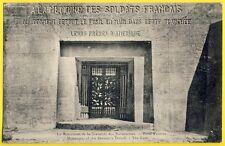 cpa VERDUN (Meuse) A la Mémoire des SOLDATS FRANÇAIS de leurs Frères d'AMÉRIQUE