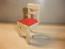 c Puppenstube Kaufmannsladen Möbel Küchenmöbel alt Stuhl Küchenstuhl Bauernstuhl