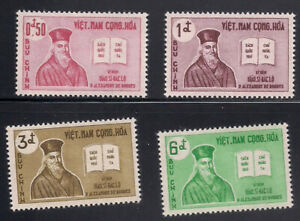 Vietnam - S.   1961   Sc # 170-73   VLH   OG   (1-040)