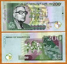 Mauritius, 200 rupees, 2007, P-57b, UNC