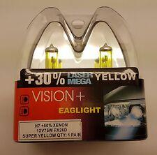 H7 75 W jaune lampe halogène +50% Xénon 30% Laser Mega
