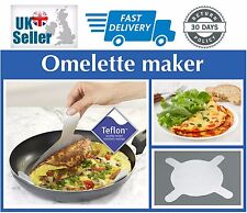 Pack Of 2 Non Stick Omelette Pancakes Crepes Teflon Frying Foil Makers Liners