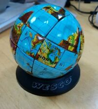 Occasion-Globe terraqueo Rubik's Cube-Acier-Metal Earth Rubik-très rare