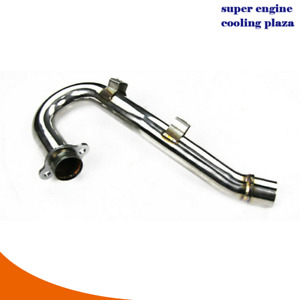 Stainless Steel Exhaust Header Pipe For 2006-2007 Honda CRF450R CRF 450R AU New