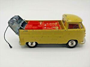 Rare Corgi Vintage 1960's VW Volkswagen Transporter Single Cab Tow Truck C-C6
