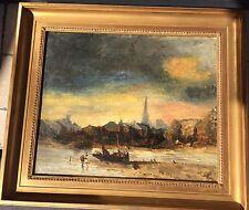 AUTHENTIQUE MARINE SIGNÉE ET DATÉE DE 1858 QUALITÉ MUSÉE Jules Noël