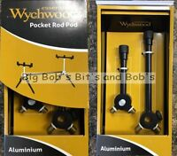 NEW Pocket Pod WYCHWOOD Alloy Converts To ROD POD Aluminium Carp Fishing