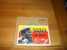 "Joe Higgs-invitation to jamaica.7"""
