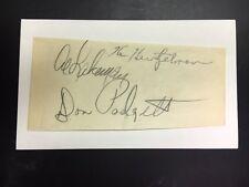 Phillie Whiz Kids Ken Heintzelman/Al Lakeman/Padgett Signed IC JSA Precert