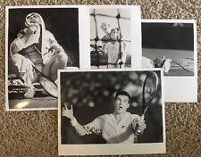 Lot Vtg Original Press Photo Tennis Player Star Open Tournament Nike McDonald's