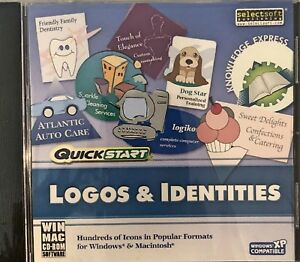 QuickStart Logos & Identities Pc Brand New XP 400 Attractive Icons Up Your Image