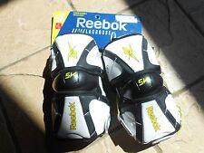Reebok 5K Elbow Guards (White/Black/Lime)-Large (New)