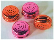 36 MINI METALLIC YO YO'S bulk toy #094 wholesale lot toys yoyo prizes yo-yo NEW