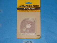 OEM!  McCULLOCH 218301 217376 air filter element, Pro scaper Mac 95A 90A 80A 60A