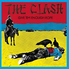 The Clash Give 'Em Enough Rope CD NEW Tommy Gun/Stay Free/English Civil War+