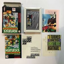 Super Nintento Entertainment System HARLEY'S HUMONGOUS ADVENTURE SNES USA