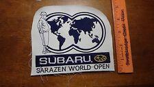 VINTAGE SUBARU SARAZEN WORLD OPEN  GOLFING TOURN GOLF  CLUB PATCH BX M #5