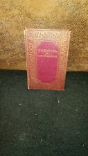 CARNIVAL by COMPTON MACKENZIE Reader library Novel Hard Cover