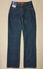 """NWT Women's POSTED low rise relaxed denim jeans size 1/2  28W  32"""" inseam 100% C"""