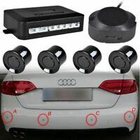 Black Parking Aid 4 Sensors Car Reversing Alarm Reversing System Parking Sensors
