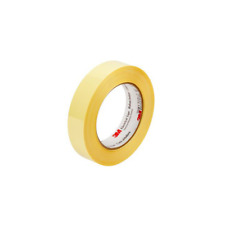New listing 3M Polyester Film Electrical Tape 1350F-2, 50M, Yellow, .687x144 yds