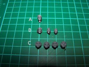 Astra Militarum Command Squad Heads (bits)