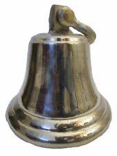 GERMAN SILVER made BELL - 3 Kilo - Great Sounding - ship / Boat / Church