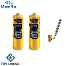 Super TT200 Fire  Blow Torch and 2x Mapp+ Gas cylinder 24hr courier value bundle