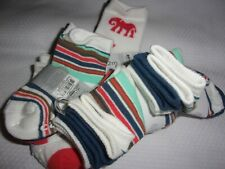 NWT Lot of 12 Pairs Carter's Baby Boy Socks Size 0-3