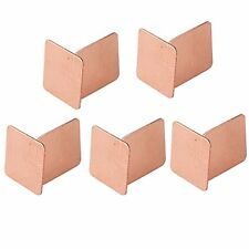 10pcs 15x15x0.5mm Heatsink Copper Shim Pads for Laptops GPU CPU VGA
