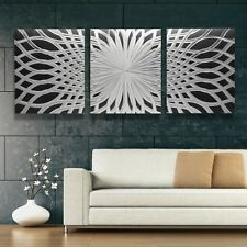 XL Modern Abstract Metal Wall Art Contemporary Sculpture Design Piece Home Decor