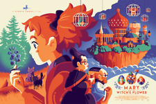 Tom Whalen - Mary And The Witch's Flower - Regular - Mondo - Poster Print SDCC