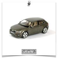 Schuco 1/43 - Audi A3 2012 anthracite métallisé