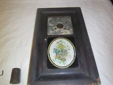 Antique Seth Thomas kitchen clock chiming with key and heavy weights