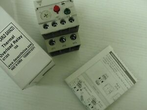 New Carlo Gavazzi Thermal Overload Relay, GT32S, 10Amps, 1298001231