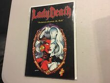 Lady Death: Between Heaven & Hell TPB Rare