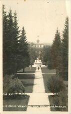 Andrews 1933 Oregon Walk Wilson Park State Capitol Salem RPPC postcard 1201