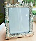 BIG 13  VINTAGE STERLING SILVER PICTURE FRAME fits 8 x 10 ORNATE REPOUSSE SHELL