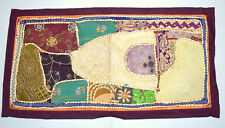 Vintage Home Office Décor Tapestry Patchwork Embroidery Wall Clothing. i17-47