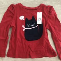 ❗️SALE❗️Baby Gap Girls Toddler Long Sleeve Shirt. 12-18 Months. New With Tags