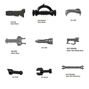 Custom LIGHTSABER HILTS for Minifigures -Pick Style!- Star Wars NEW
